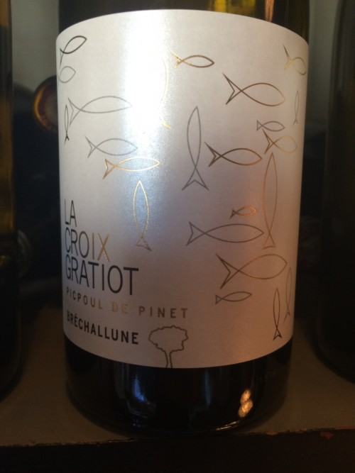 Domaine La Croix Gratiot - Bréchallune - 2014 - Blanc