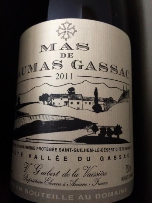 Mas de Daumas Gassac Rouge - 2011
