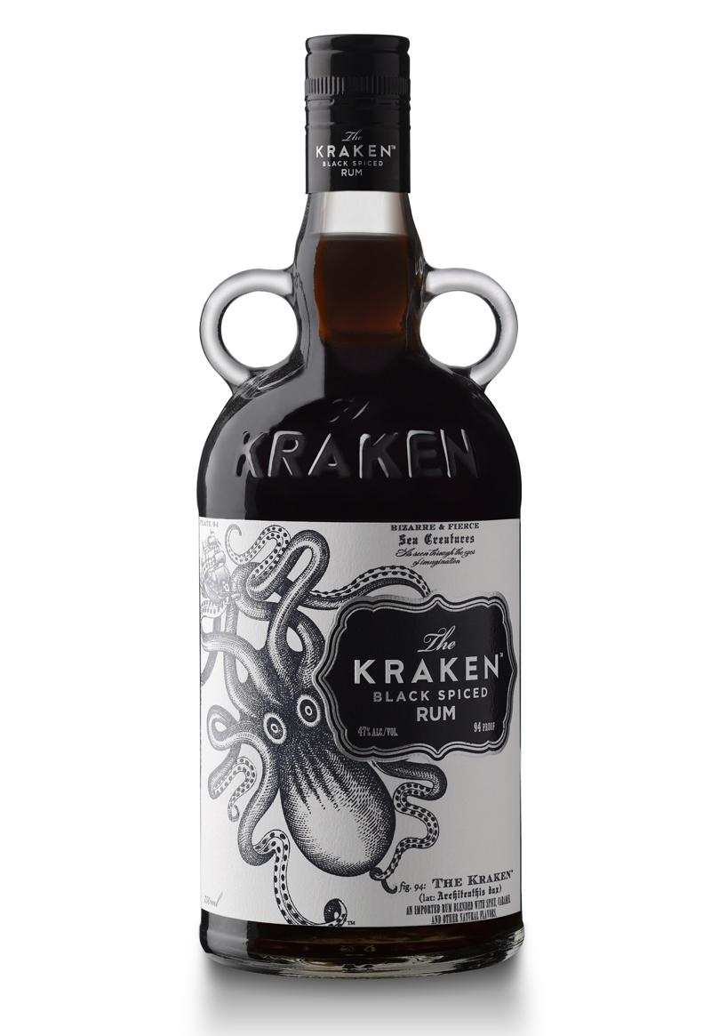 The Kraken Black Spiced Rum