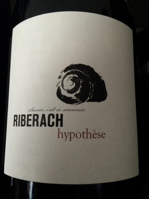 Domaine Riberach - Hypothèse - Rouge