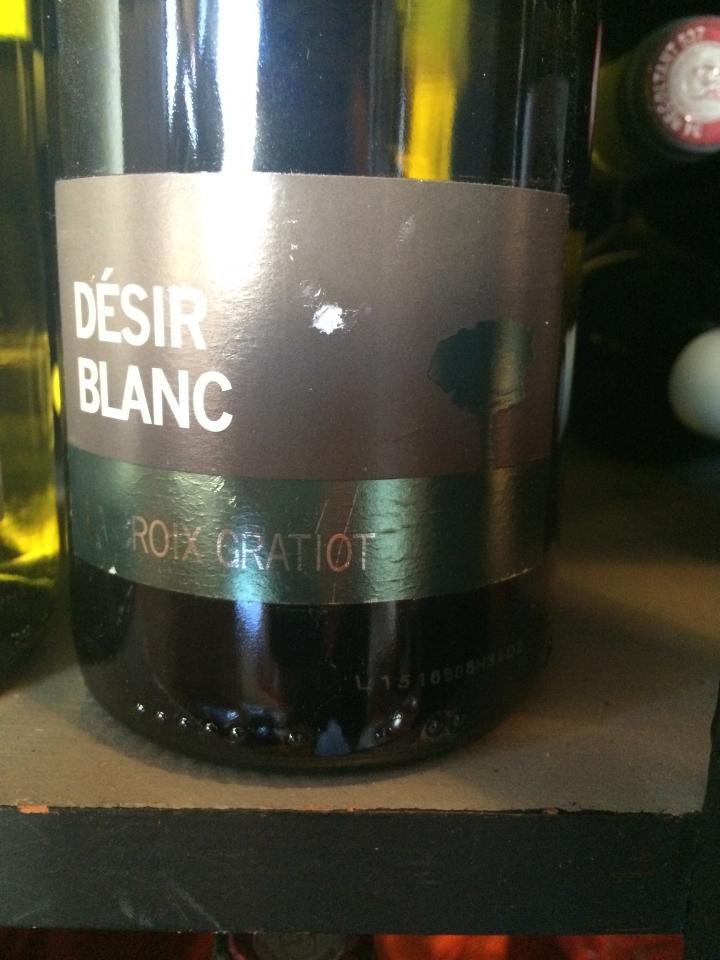 Domaine La Croix Gratiot - Désir Blanc - 2014 - Blanc