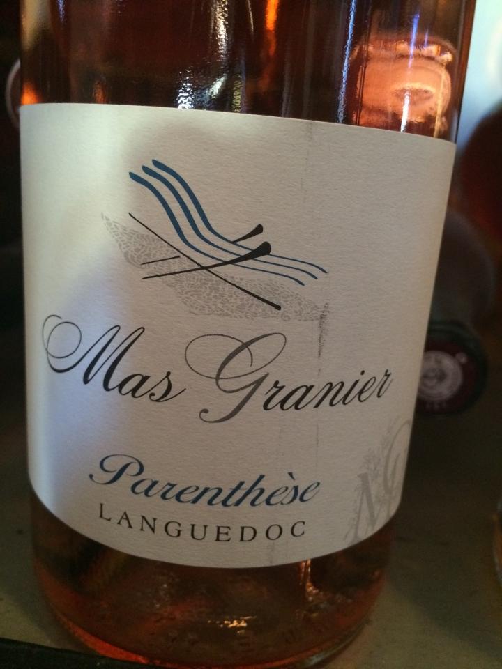 Mas Granier - Parenthèse - 2014 - Rosé