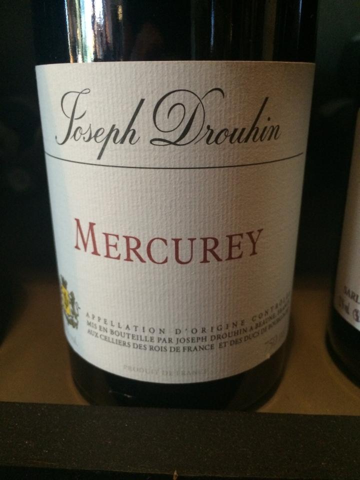 Domaine Joseph Drouhin - Mercurey - Rouge