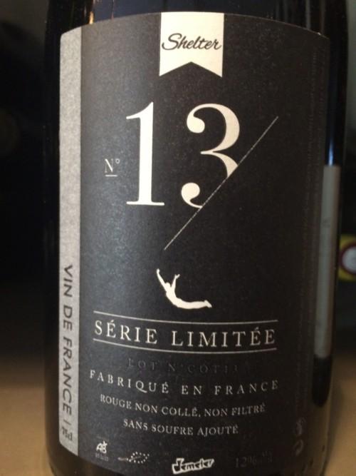 Le Sot de l'Ange - Vin de France N°13 - Rouge