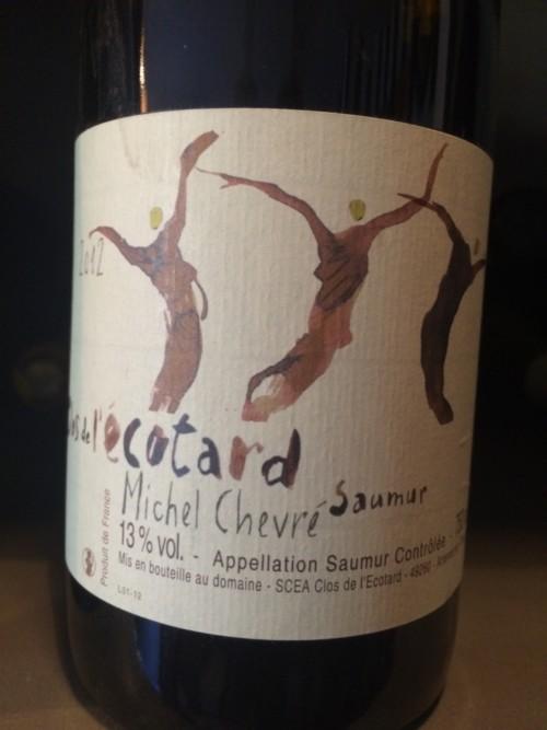 Michel Chevré - Clos de l'Ecotard - 2012 - Blanc