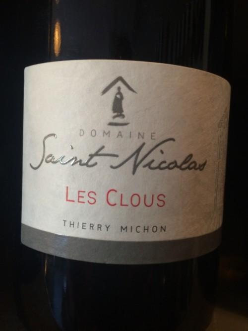 Domaine Saint Nicolas - Les Clous - 2014 -Blanc