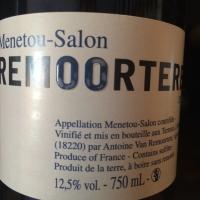 Domaine Antoine Van Remoortere - Menetou Salon Blanc - 2014