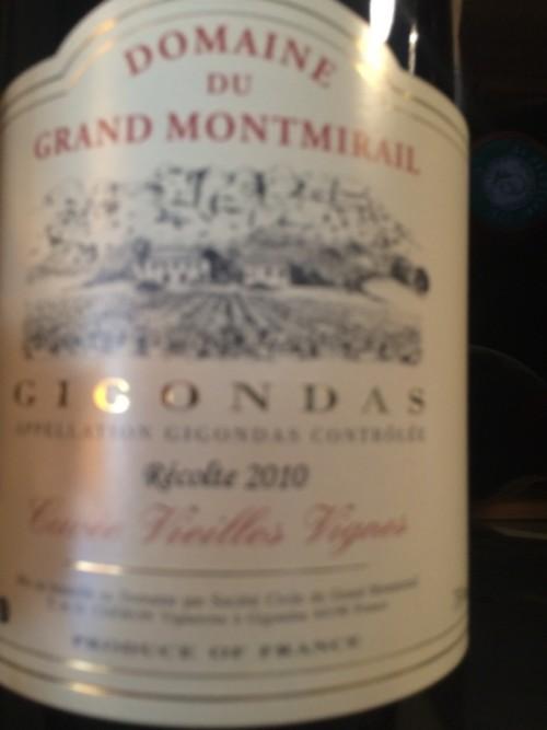 Domaine du Grand Montmirail - Gigondas - 2010 - Rouge