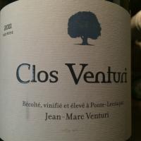 Domaine Clos Venturi Rouge 2011