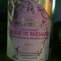 Domaine Pietri Geraud - Muscat de Rivesaltes - 2013