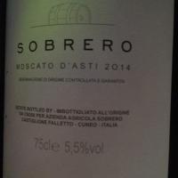Domaine Sobrero - Moscato d'Asti 2014 - Blanc